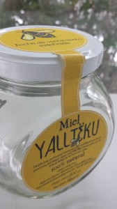 etiquetas miel frasco